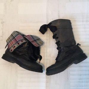 Dr Martens Triumph Fold Over Lace Up Boots 12107